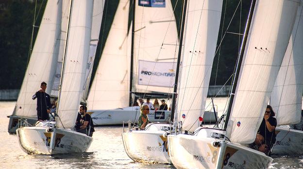 Регата в честь дня рождения PROyachting.