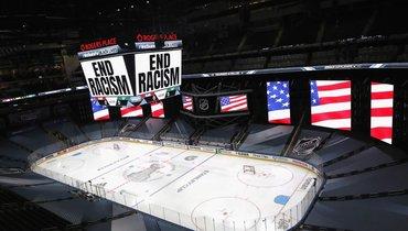НХЛ прервала сезон из-за антирасистских протестов. Новозобновит его снова как нивчем небывало
