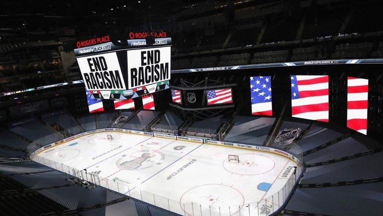 НХЛ приняла решение перенести матчи плей-офф. Фото nhl.com