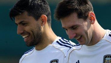 «Манчестер Сити» надеется, что дружба Месси сАгуэро также повлияет нарешение форварда «Барселоны»