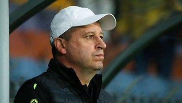 Экс-игрок «Зенита» ушел споста главного тренера «Шахтера». Клуб лидирует вчемпионате Белоруссии