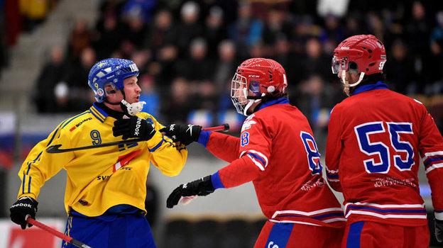 2017 год. Финал чемпионата мира похоккею смячом Швеция— Россия. Фото Reuters
