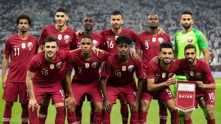 Сборная Катара.