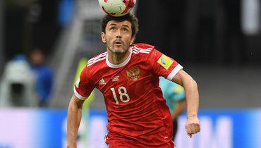 Жирков вышел навторое место всписке самых возрастных игроков сборной России, обойдя Черчесова