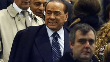 Убывшего владельца «Милана» Берлускони диагностировали двустороннюю пневмонию