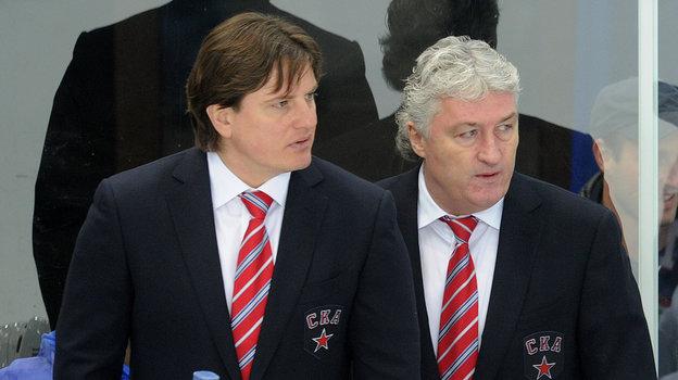 2011 год. Андрей Потайчук (слева) иМилош Ржига. Фото Федор Успенский, «СЭ»