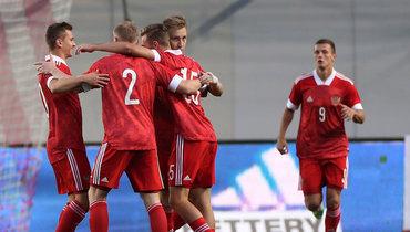 Гол Глушенкова на1-й минуте принес молодежной сборной России победу над Болгарией вотборе Евро-2021