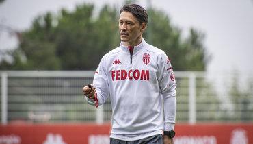 L'Equipe: углавного тренера «Монако» подозрение накоронавирус