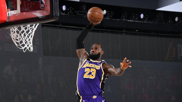 5сентября. Леброн Джеймс. Фото NBA