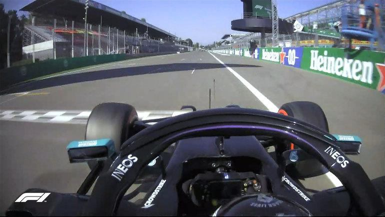 Льюис Хэмилтон вочередной раз выиграл квалификацию. Фото «Формула-1».