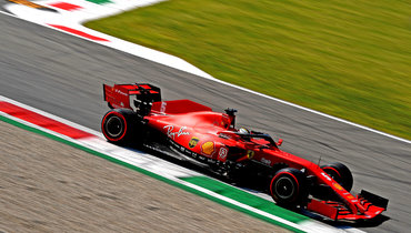 «Феррари» впервые с1984 года будет стартовать вне топ-десятки на «Гран-при Италии»