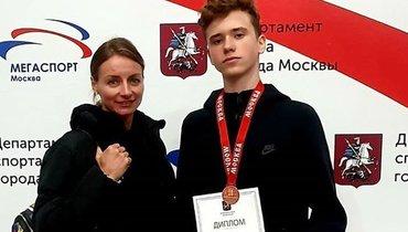 Виктория Буцаева иИлья Яблоков.