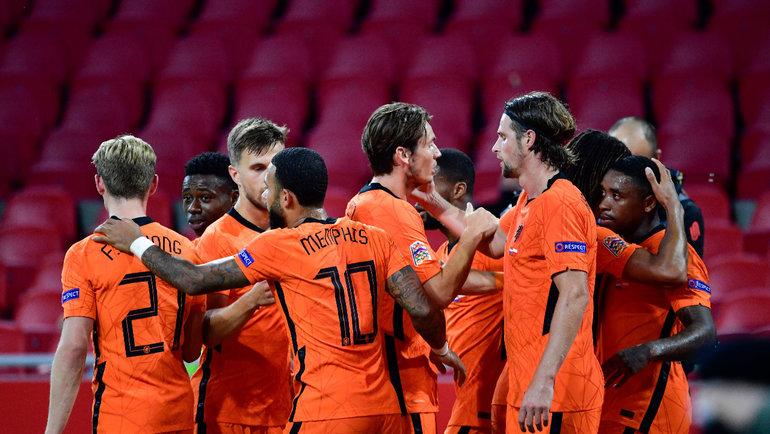 Сборная Голландии сыграет против Италии вЛиге наций. Фото AFP