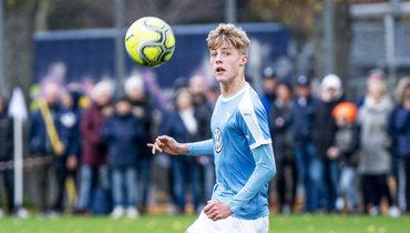«Милан» подписал 16-летнего шведского форварда