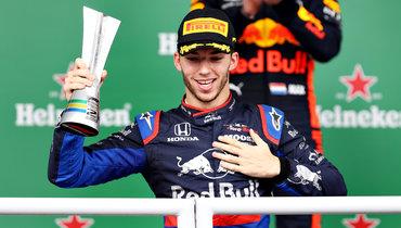 Гасли выиграл «Гран-при Италии», Хэмилтон— 7-й, Квят— 9-й