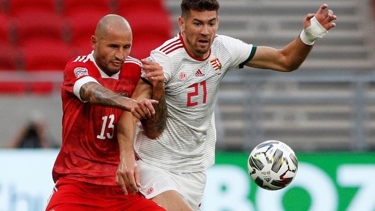 6сентября. Будапешт. Венгрия— Россия— 2:3. Россияне одержали вторую победу вЛиге наций. Фото Reuters