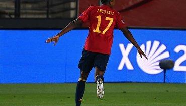 Ансу Фати— самый молодой автор гола вистории сборной Испании