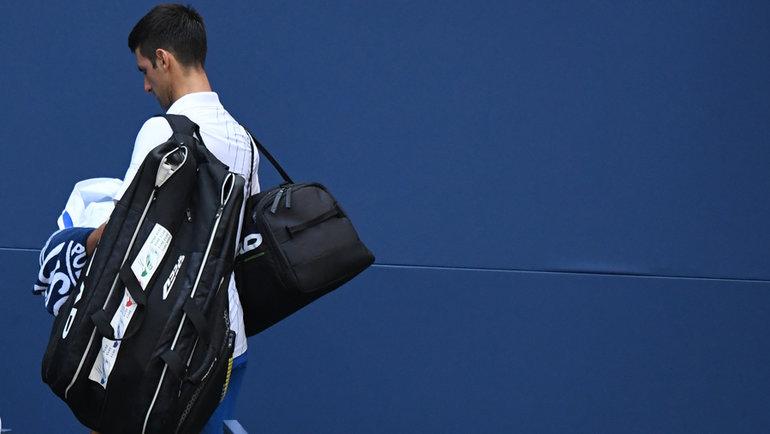 Джоковича выгнали сUS Open заудар судьи