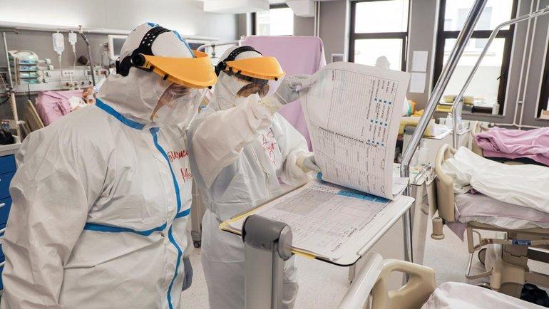Эпидемия коронавируса вмире.