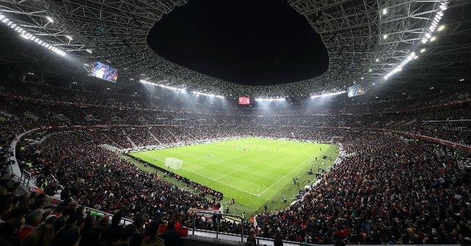 «Пушкаш Арена». Фото УЕФА.