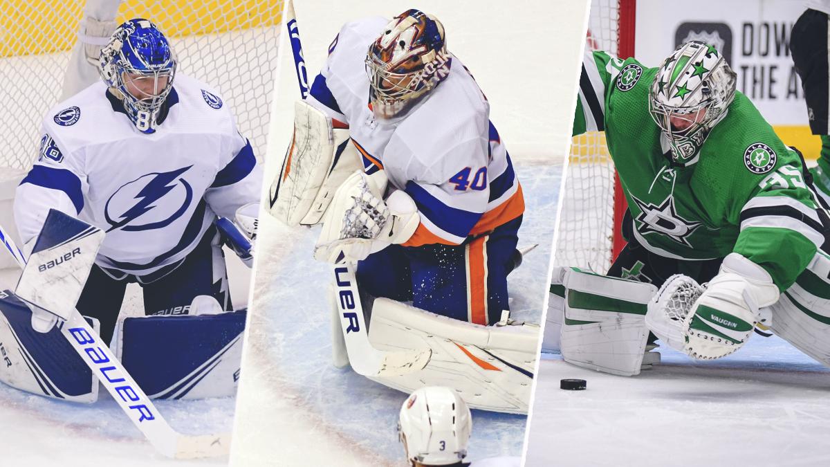 Наши вратари доминируют вплей-офф НХЛ. Начетыре оставшиеся команды— три голкипера изРоссии!
