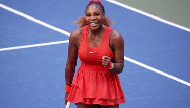 Серена Уильямс обыграла Саккари в1/8 финалаUS Open