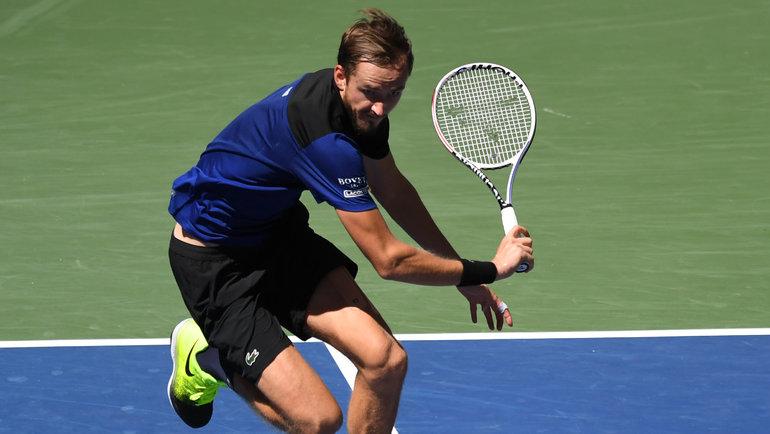Даниил Медведев. Фото Danielle Parhizkaran, USA Today Sports