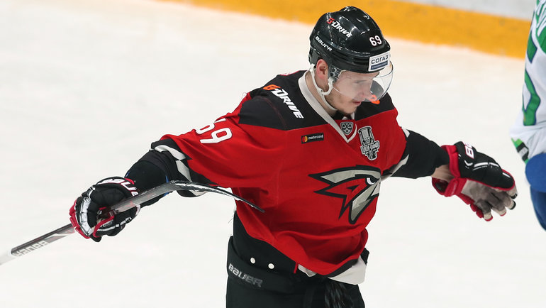 Сергей Шумаков. Фото Владимир Беззубов, photo.khl.ru