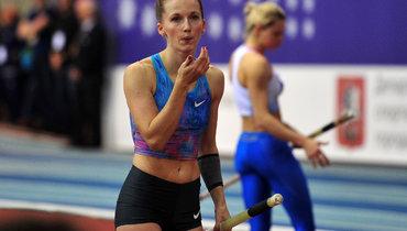 Сидорова выиграла чемпионат России впрыжках сшестом ипревзошла Исинбаеву поколичеству побед