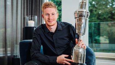 ДеБрейне признан игроком года вАнглии, Александр-Арнолд— лучший молодой футболист