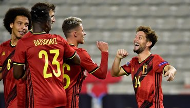 Бельгия выиграла 12-й матч подряд иповторила результат сборной России