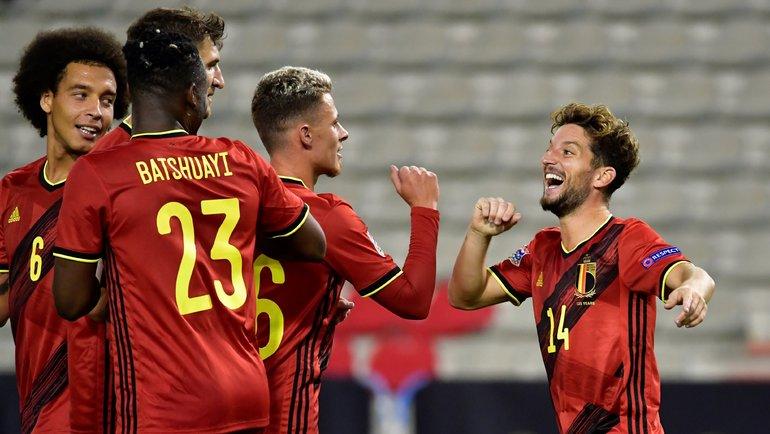 Сборная Бельгии победила в 12-м матче подряд. Фото УЕФА