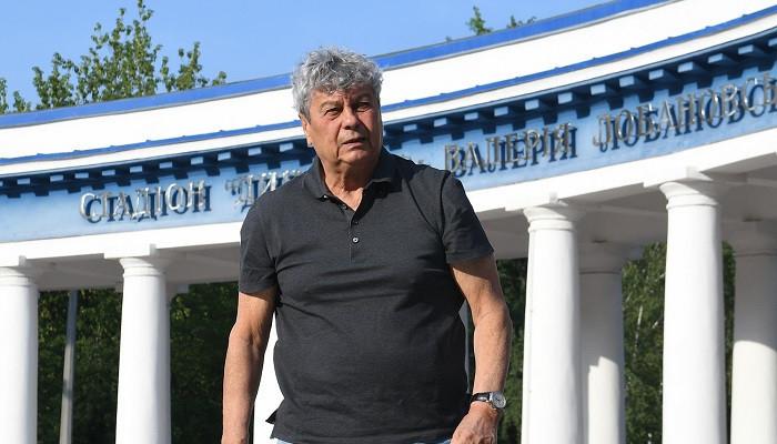 Мирча Луческу. Фото ФК «Динамо» Киев.