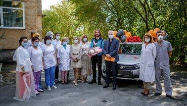 Бикфалви подарил автомобиль больнице, боровшейся скоронавирусом