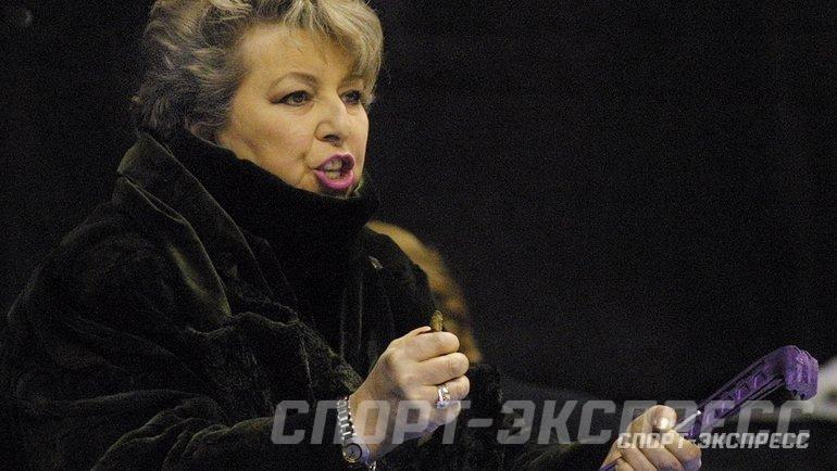 """Татьяна Тарасова. Фото """"СЭ"""""""