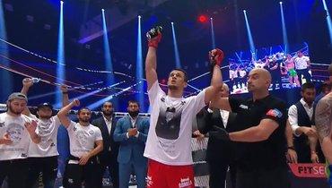 Усман Нурмагомедов победил Шабанова натурнире памяти Абдулманапа Нурмагомедова