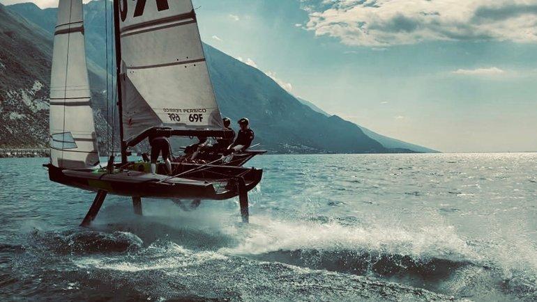 PROyachting Skolkovo Team.