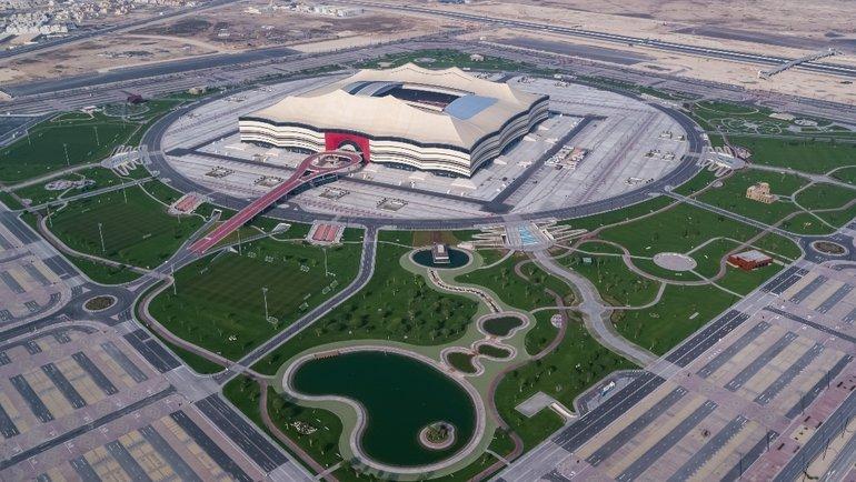 Стадион вКатаре.