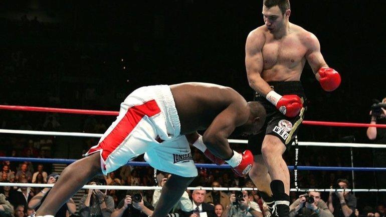 Виталий Кличко победил Дэнни Уильямса.