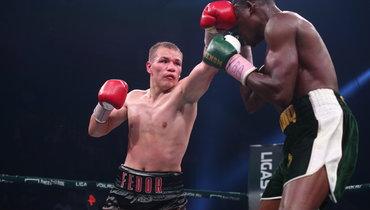 Чудинов нокаутировал Садика в12-м раунде изащитил звание чемпиона WBA Gold