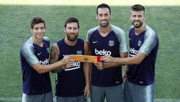 Месси остается капитаном «Барселоны». Бускетс, Пике, Роберто— ассистенты