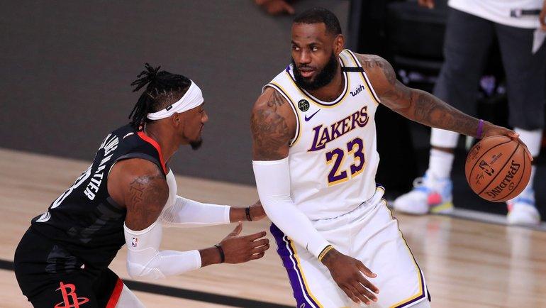 """13 сентября. """"Лейкерс"""" - """"Хьюстон"""" - 119:96. Фото NBA"""