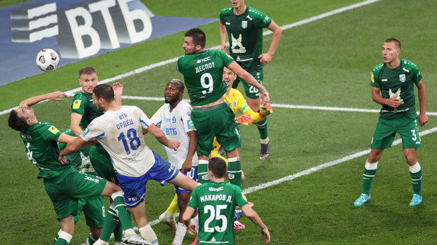 13сентября. Москва. «Динамо»— «Рубин»— 0:1.