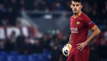 «Рома» потеряла Перотти натри недели из-за травмы