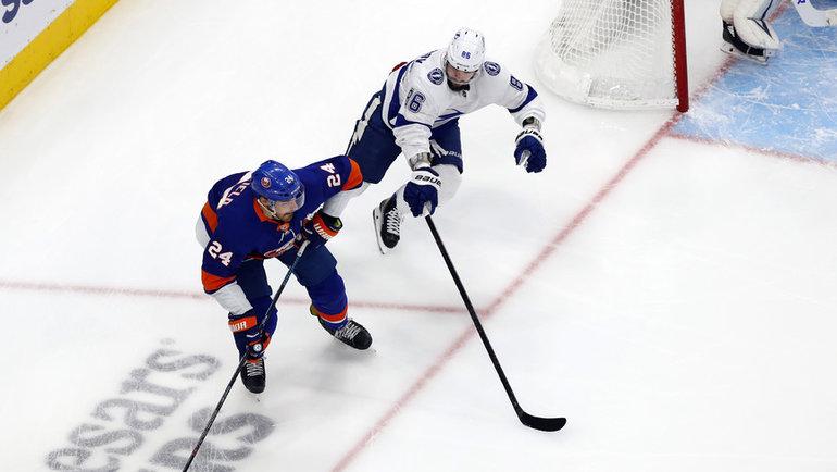 Никита Кучеров (справа). Фото USA Today Sports