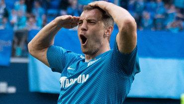 Дзюба забил 181-й гол взачет «Клуба 100». Рекорд Кержакова все ближе