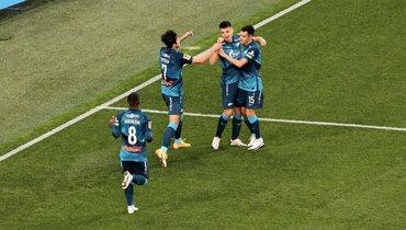 «Зенит» обыграл «Арсенал» ивернулся напервое место
