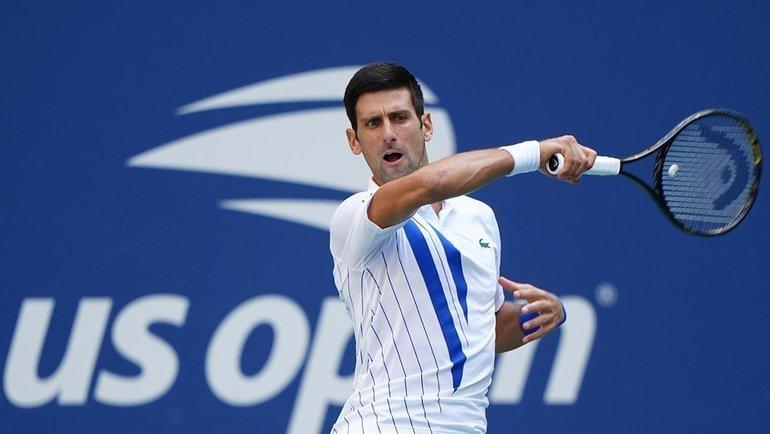 Новак Джокович. Фото US Open