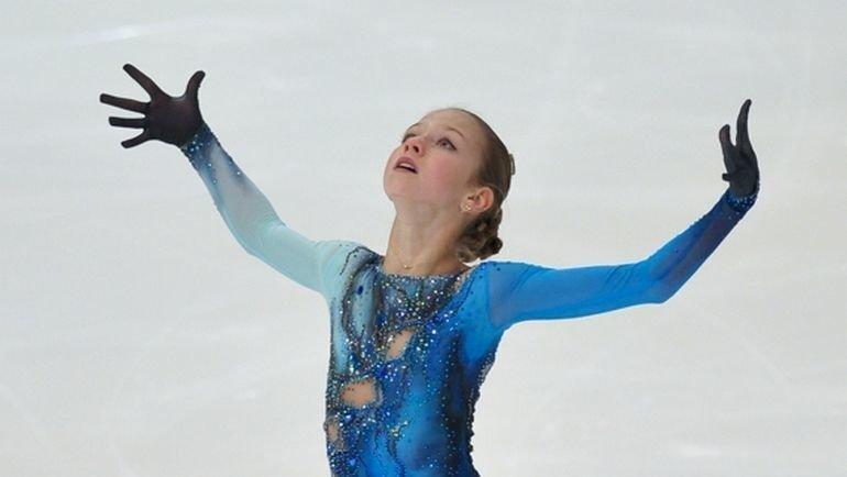 Александра Трусова. Фото ФФККР.