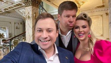 Дмитрий Губерниев иАнна Семенович. Фото https://www.instagram.com